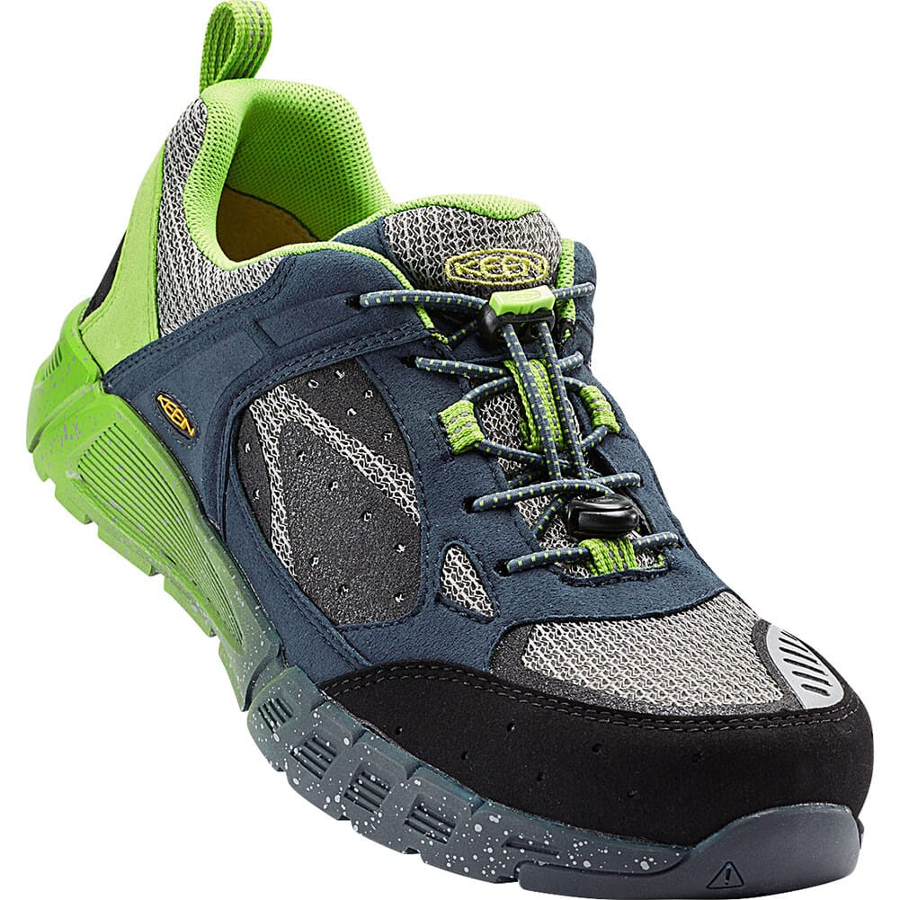 Image for KEEN Utility Men's Raleigh AT Safety Shoes - Neutral Gray/Greenery from bootbay