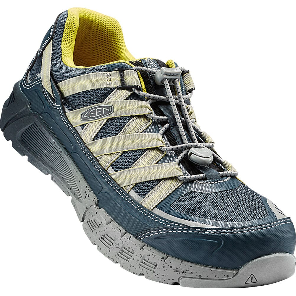 Image for KEEN Utility Men's Asheville AT ESD Safety Shoes - Midnight Navy/Warm Ol from bootbay