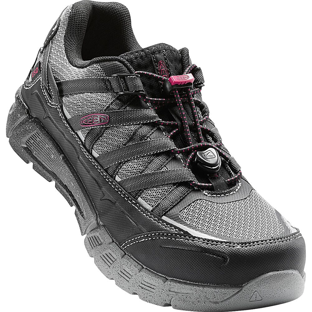 Image for KEEN Utility Women's Asheville AT ESD Safety Shoes - Black/Gargoyle from bootbay