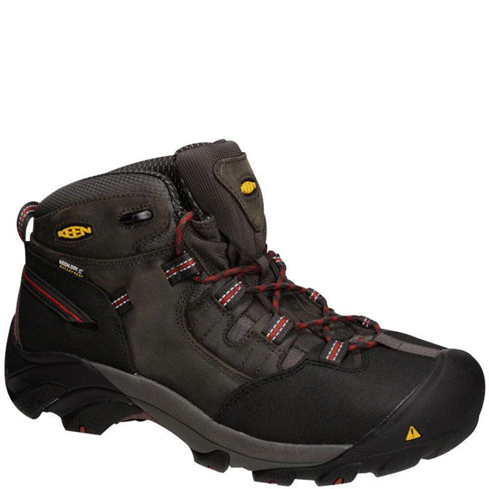 Image for KEEN Utility Men's Detroit Mid Safety Boots - Gargoyle from bootbay