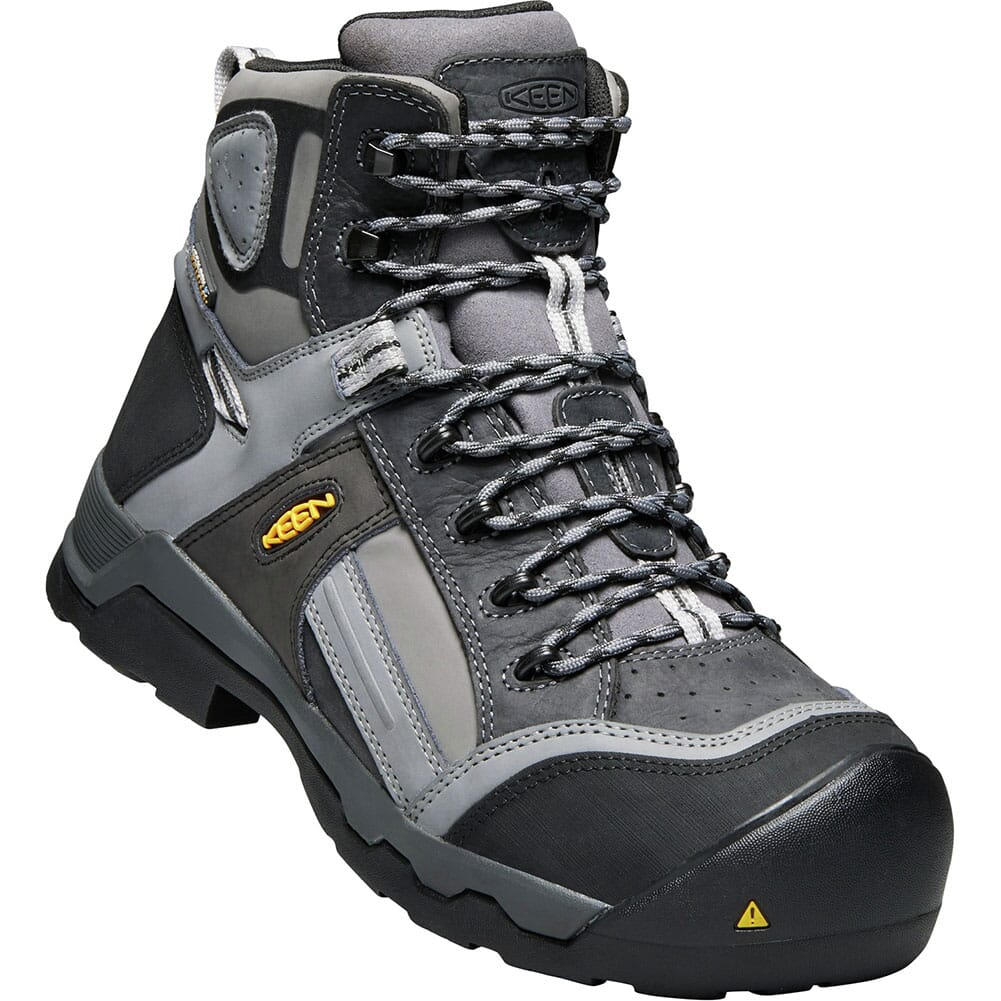 Image for KEEN Utility Men's Davenport Safety Boots - Magnet/Steel Grey from bootbay