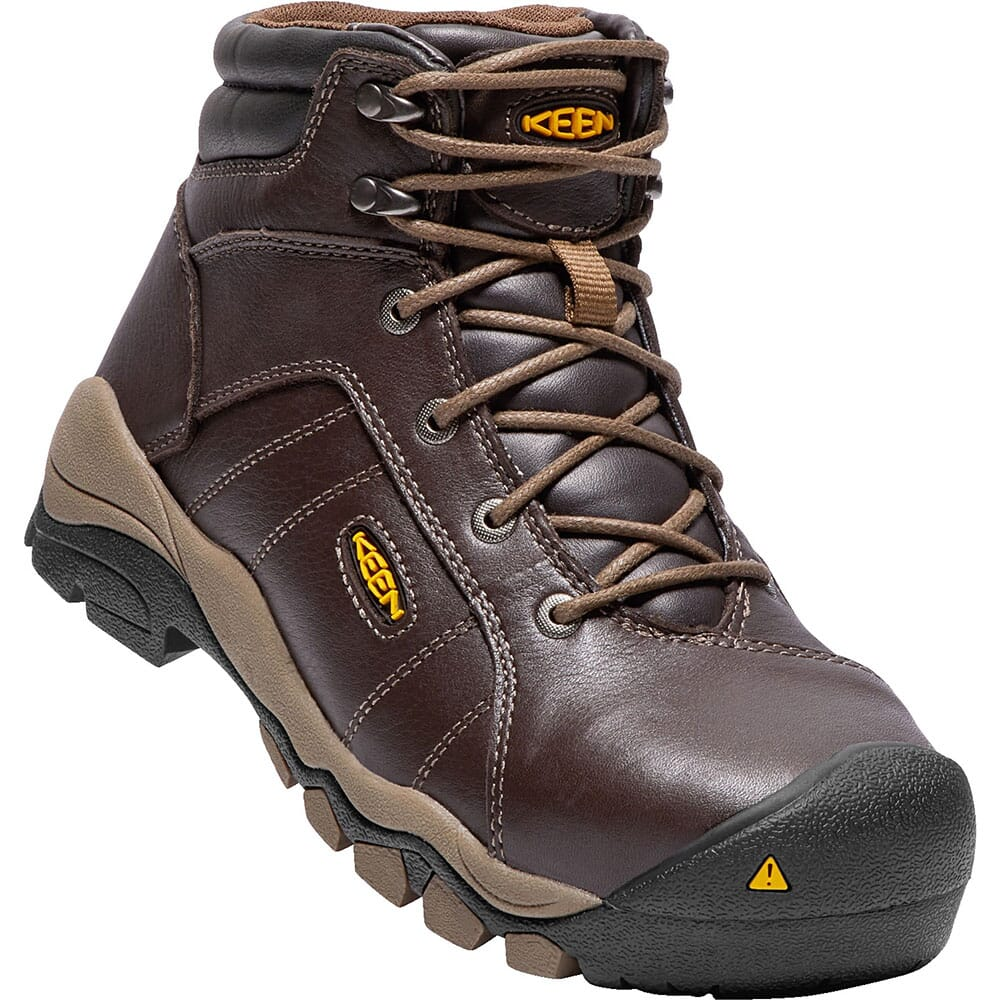 Image for KEEN Women's Santa Fe Safety Boots - Cascade Brown from elliottsboots