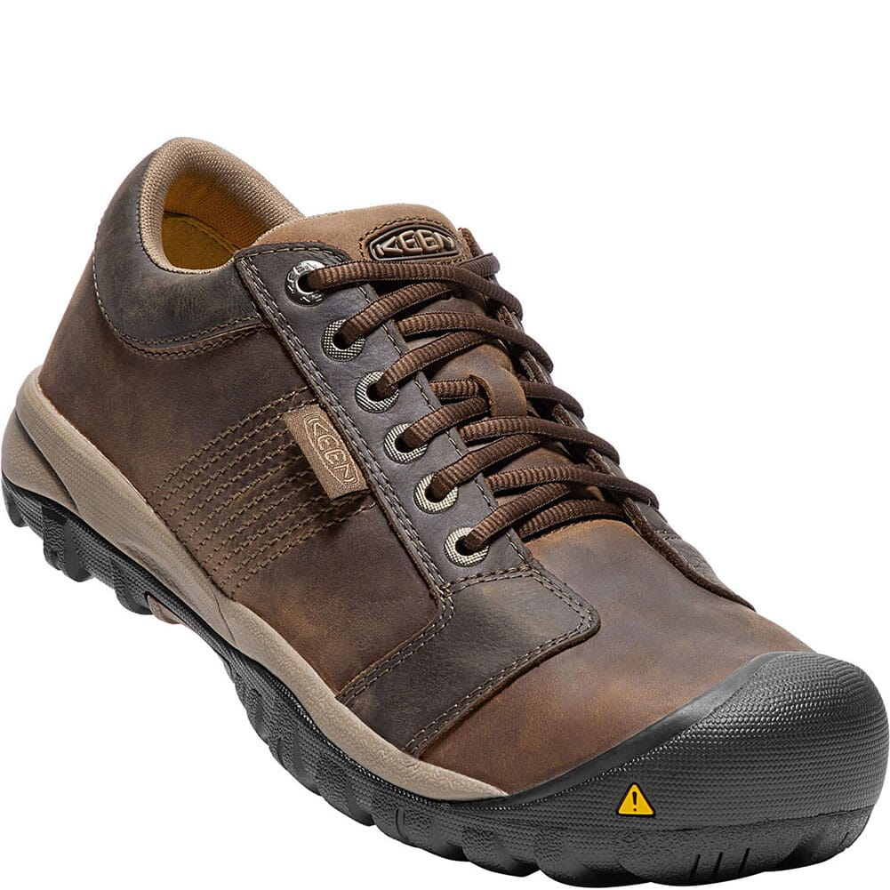 Image for KEEN Utility Men's La Conner ESD Safety Shoes - Cascade Brown from bootbay