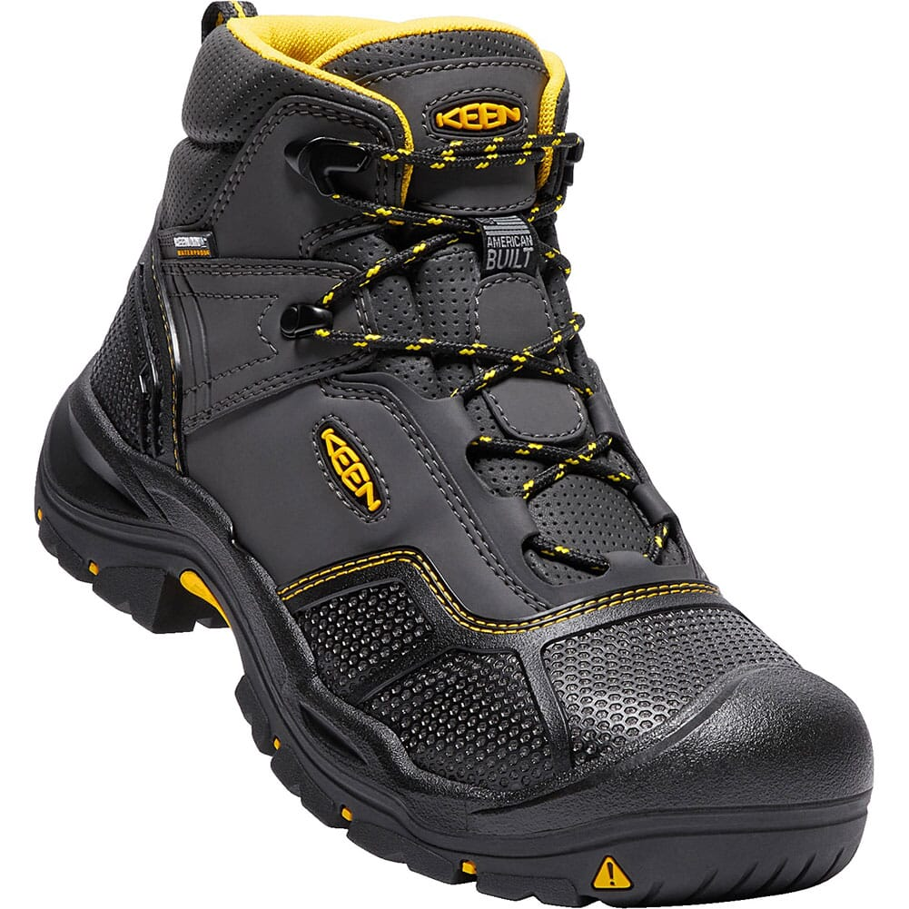 Image for KEEN Men's Logandale Safety Boots - Raven/Black from bootbay