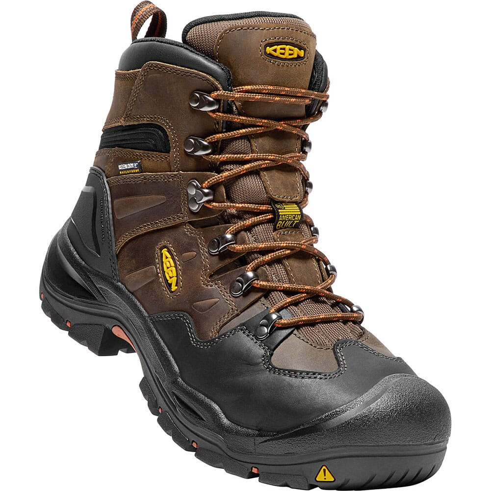 Image for KEEN Utility Men's Coburg WP Safety Boots - Cascade Brown/Brindle from bootbay