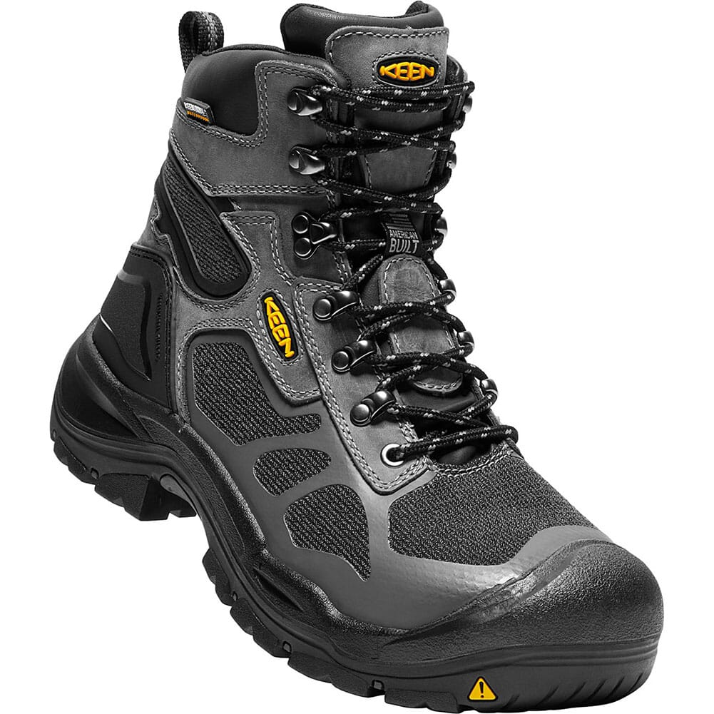 Image for KEEN Utility Men's Concord WP Safety Boots - Steel Grey/Black from bootbay