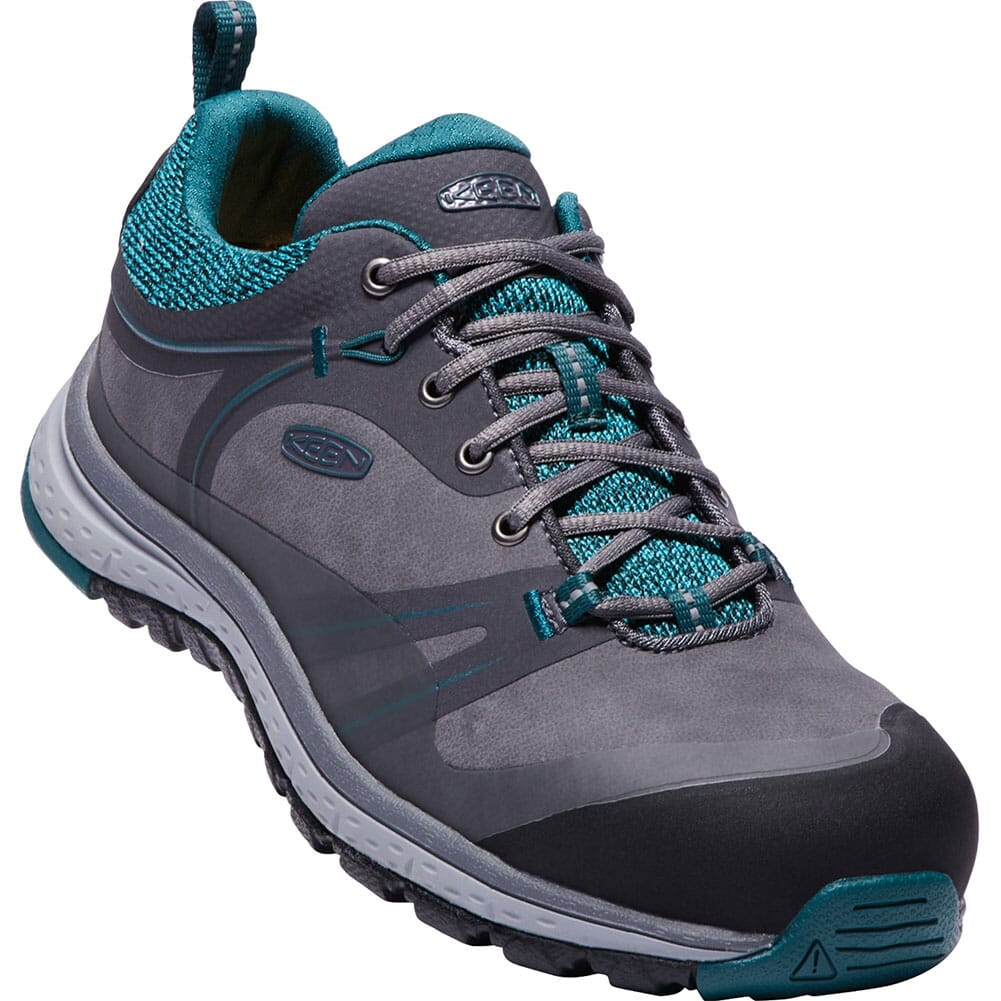 Image for KEEN Women's Sedona Pulse Low Safety Shoes - Magnet/Baltic from elliottsboots
