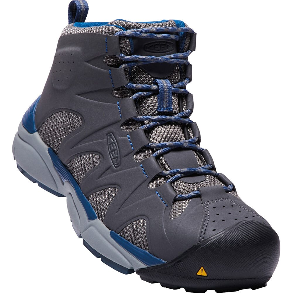 Image for KEEN Men's San Antonio Mid Safety Boots - Gargoyle from bootbay