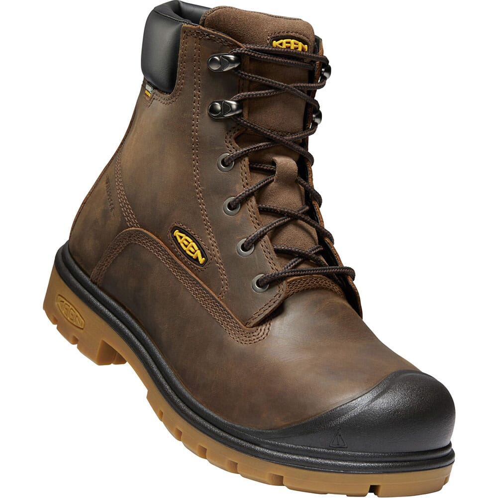 Image for KEEN Utility Men's Baltimore WP Safety Boots - Brown from bootbay