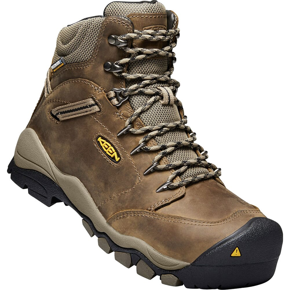 Image for KEEN Utility Women's Canby WP Safety Boots - Shitake/Brindle from elliottsboots