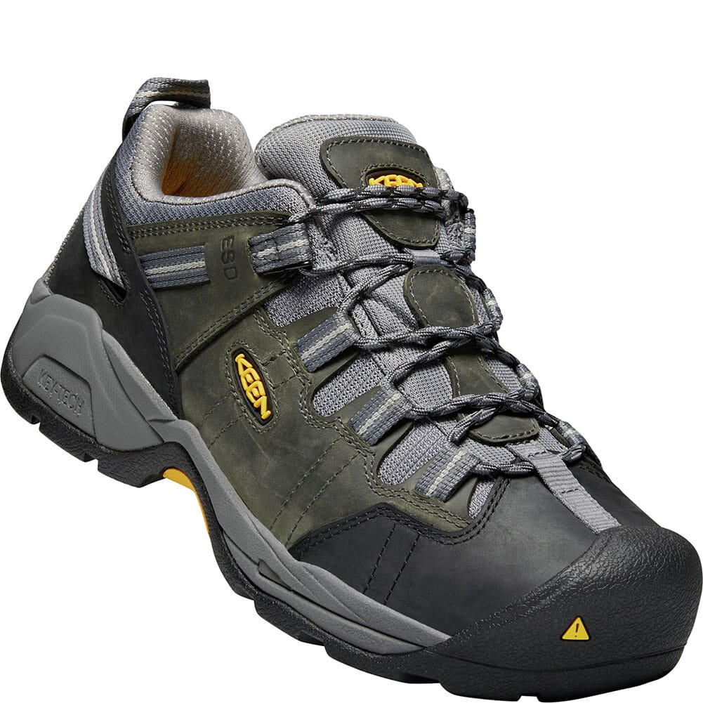 Image for KEEN Utility Men's Detroit XT ESD Work Shoes - Magnet/Steel Grey from bootbay