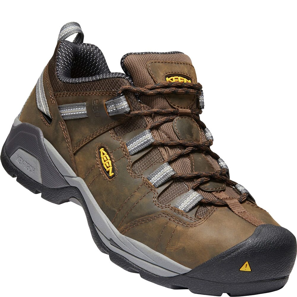 Image for KEEN Men's Detroit XT ESD Safety Shoes - Cascade Brown/Gargoyle from bootbay