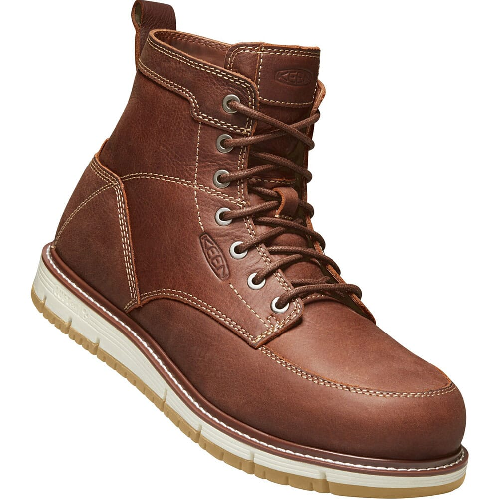 Image for KEEN Men's San Jose Safety Boots - Gingerbread/Gum from bootbay