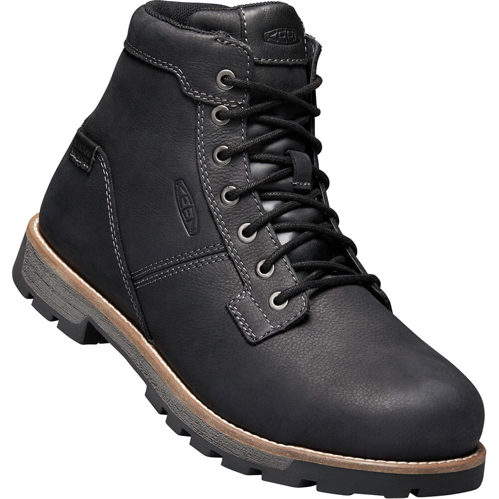 Image for KEEN Utility Men's Seattle Safety Boots - Black/Gargoyle from bootbay