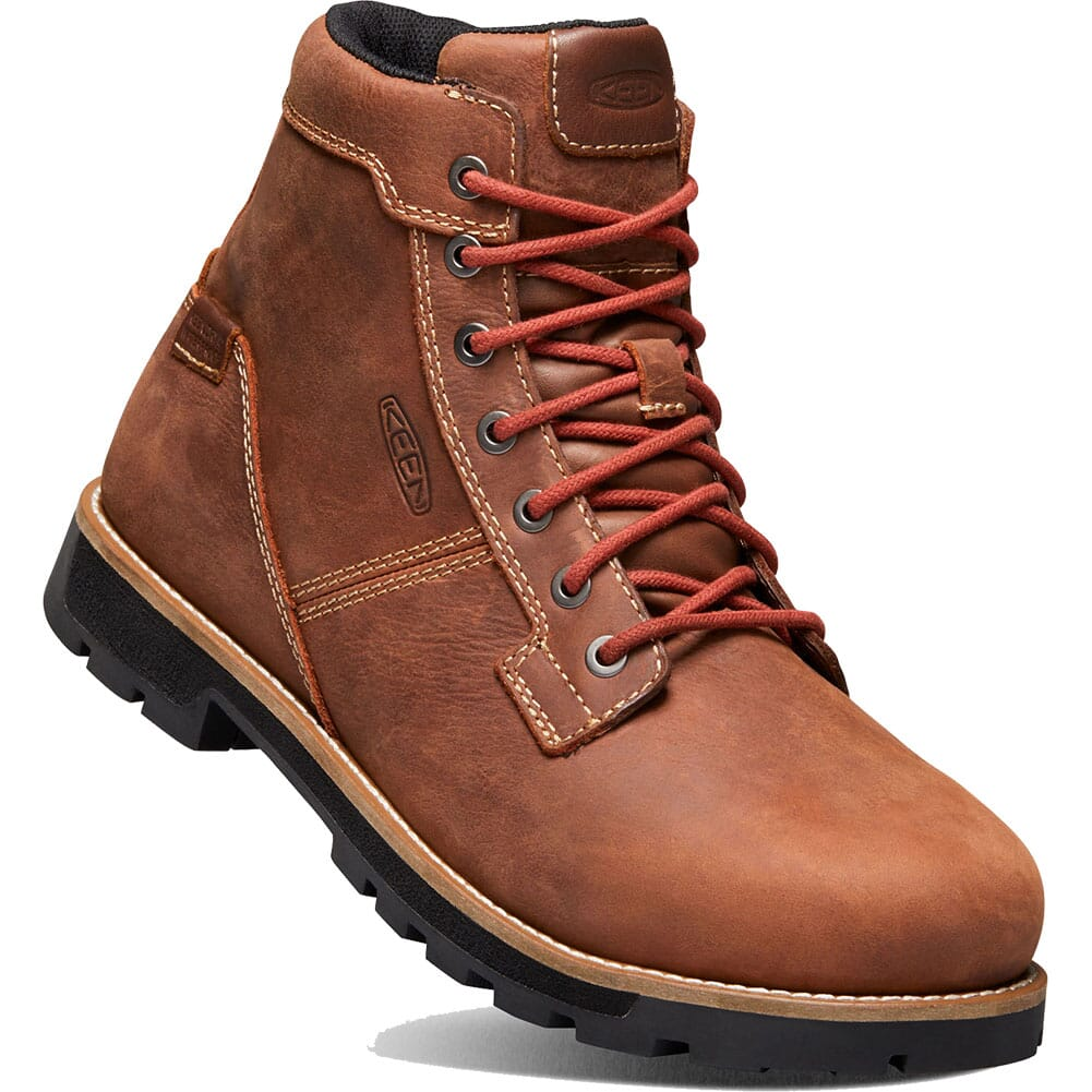 Image for KEEN Men's Seattle WP Safety Boots - Gingerbread/Brick Red from bootbay