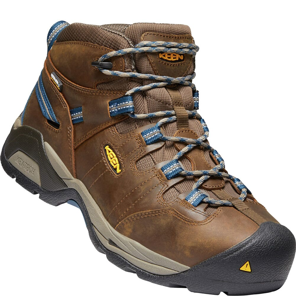 Image for KEEN Men's Detroit XT WP Safety Boots - Brown/Orion Blue from bootbay