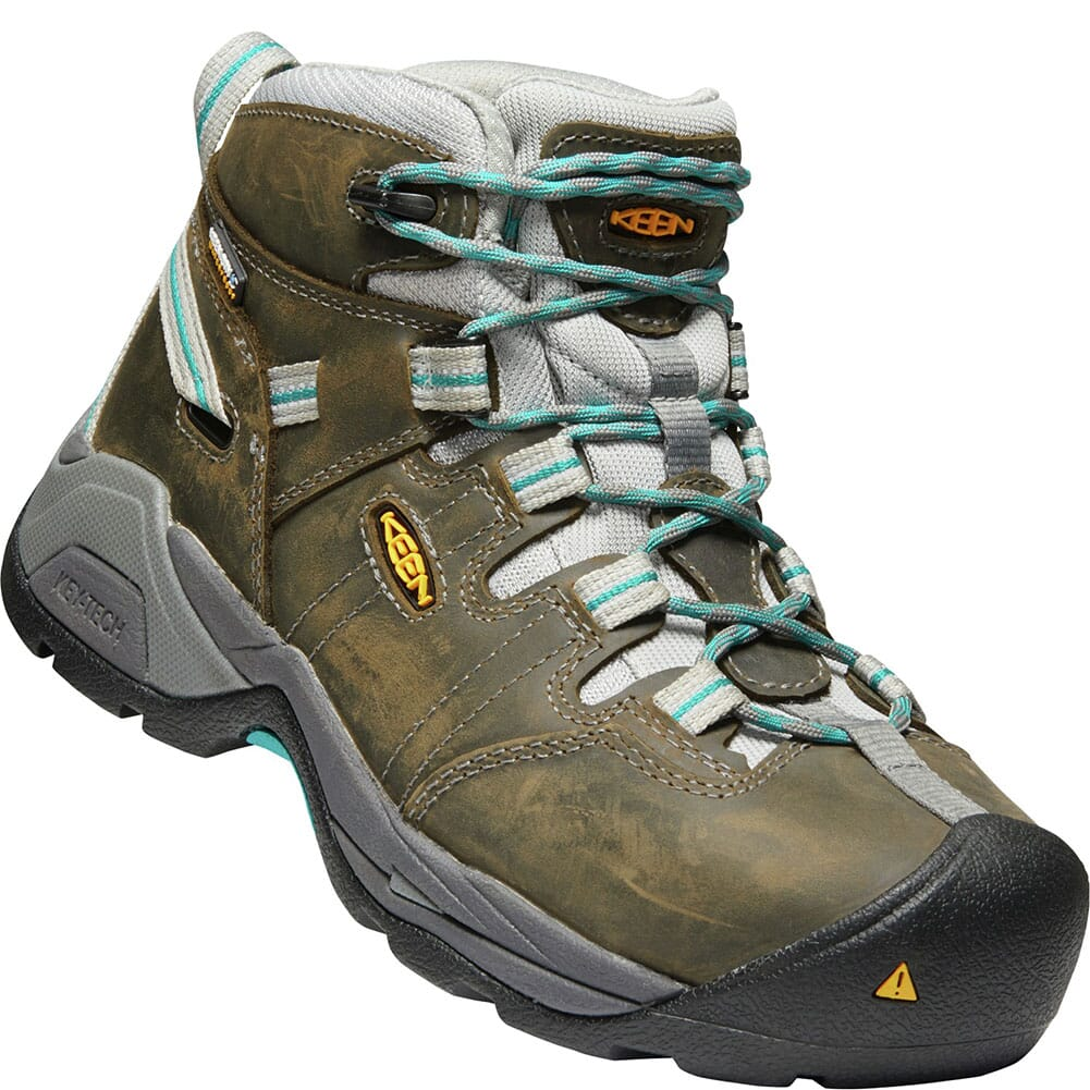 Image for KEEN Utility Women's Detroit XT Safety Shoes - Gargoyle/Lake Blue from bootbay