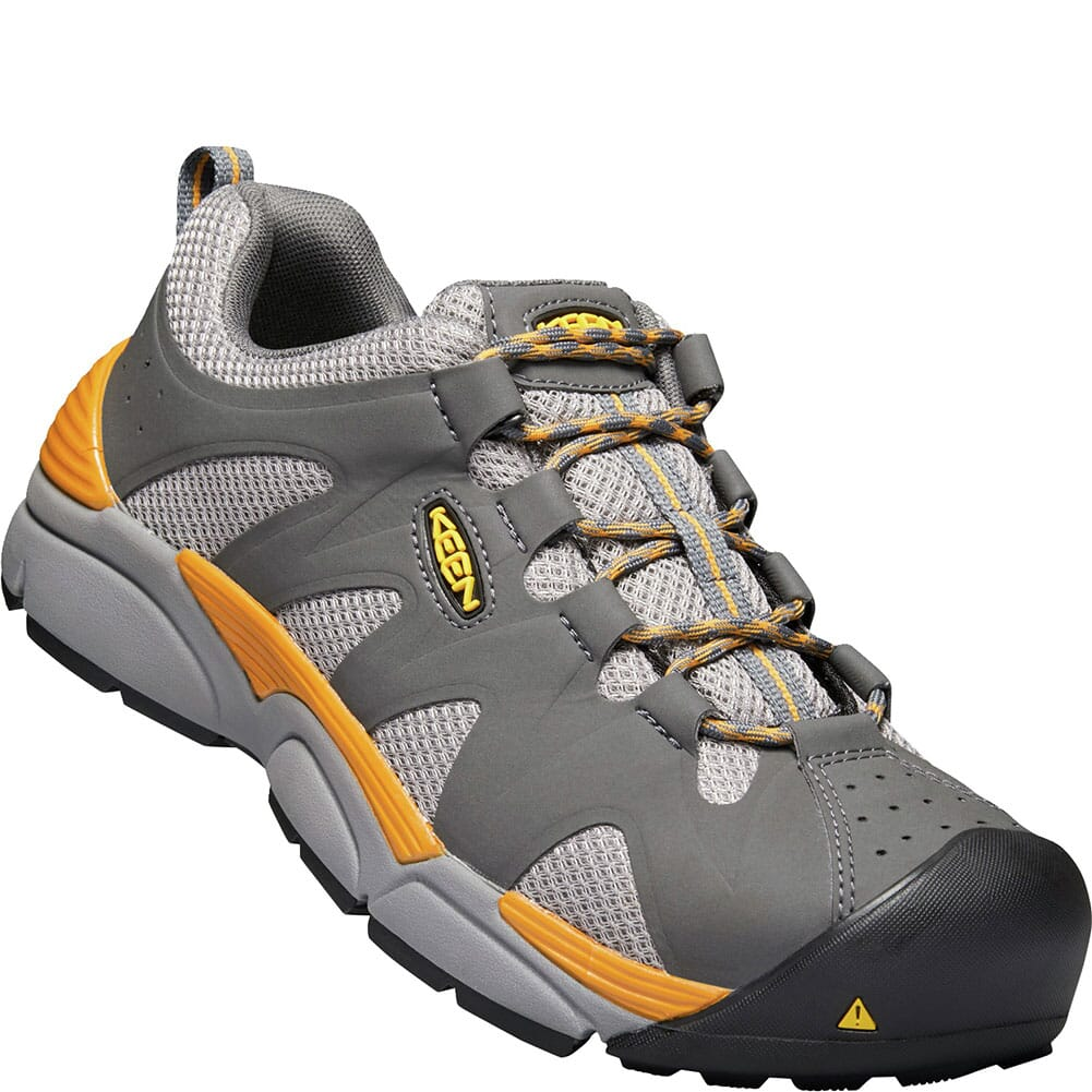 Image for KEEN Men's San Antonio Safety Shoes - Magnet/Desert Sun from bootbay