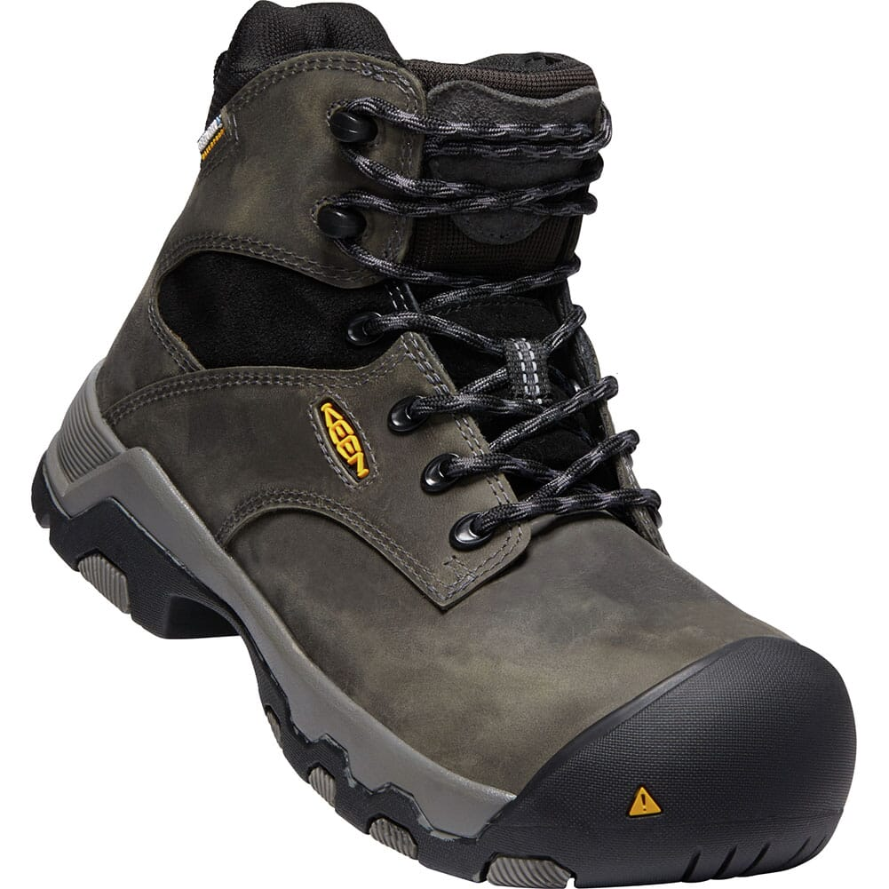 Image for KEEN Women's Helena WP Safety Boots - Magnet/Black from elliottsboots