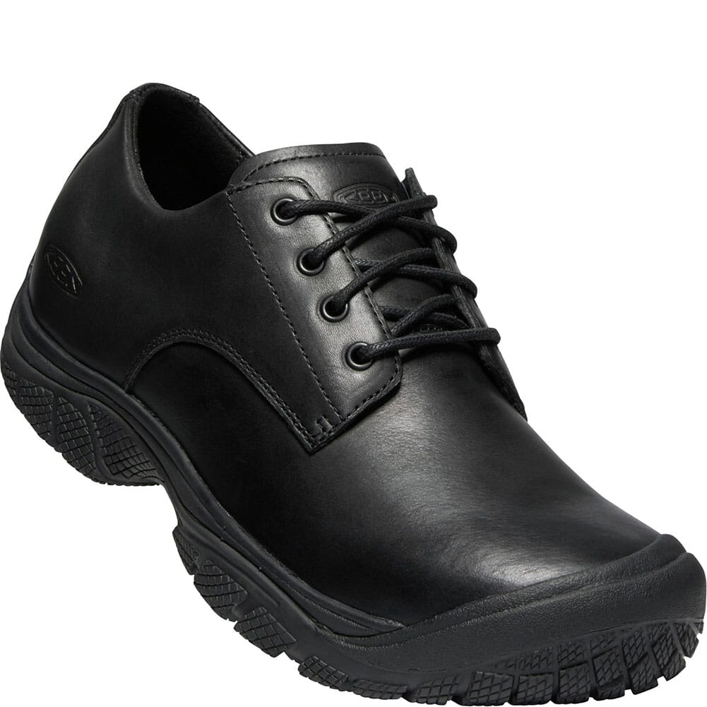 Image for KEEN Utility Men's Kanteen Romeo Work Oxfords - Black/Black from bootbay