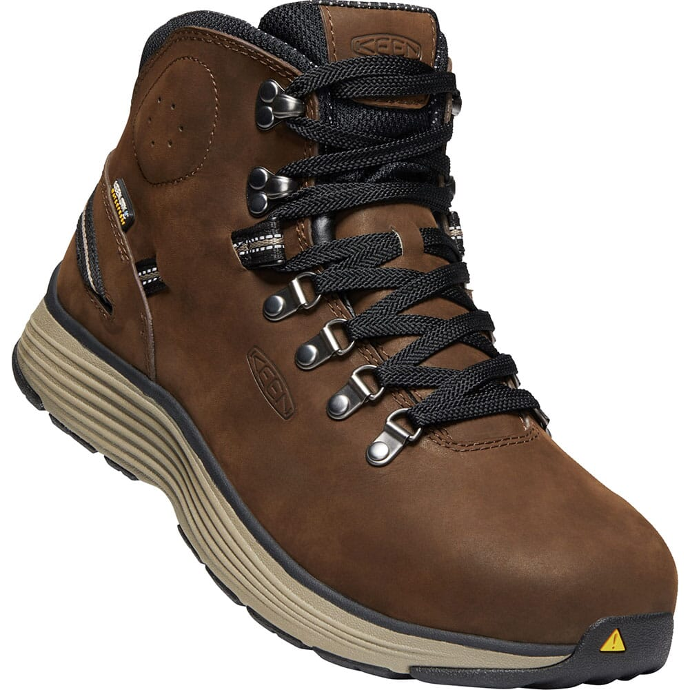 Image for KEEN Men's Manchester WP Safety Boots - Cascade Brown/Brindle from bootbay
