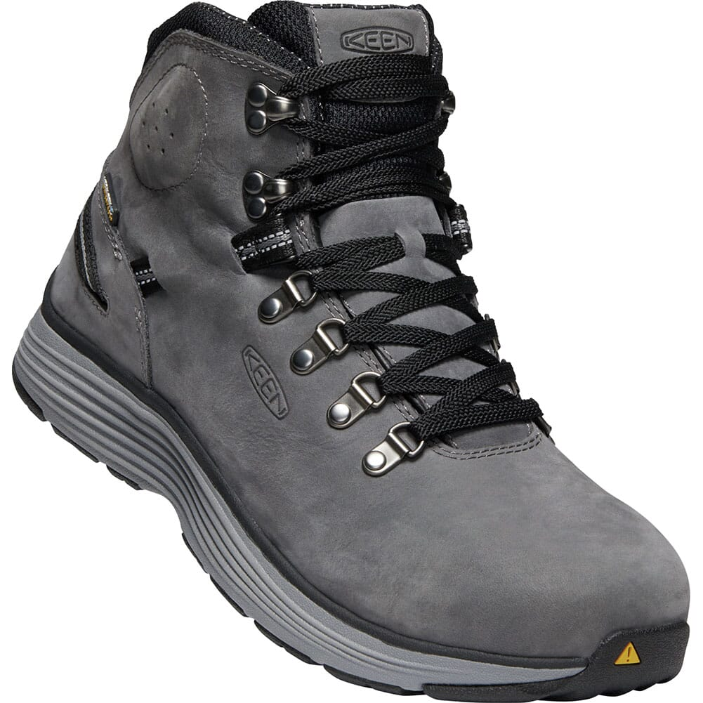 Image for KEEN Men's Manchester WP Safety Boots - Forged Iron/Black from bootbay