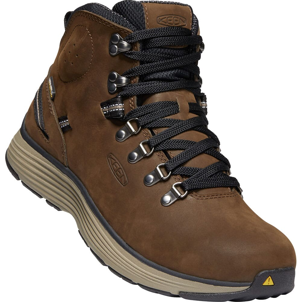 Image for KEEN Men's Manchester WP Work Boots - Cascade Brown/Brindle from bootbay