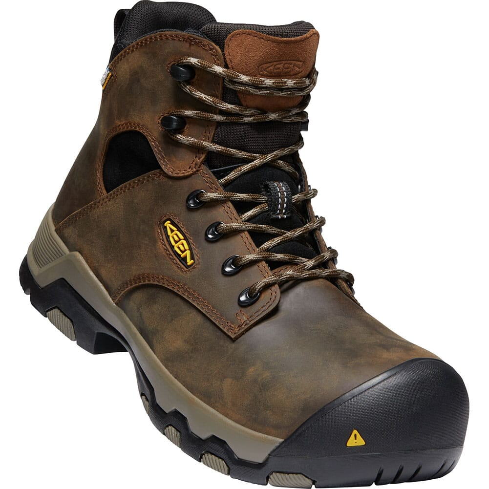 Image for KEEN Men's Rockford WP Safety Boots - Cascade Brown/Black from bootbay