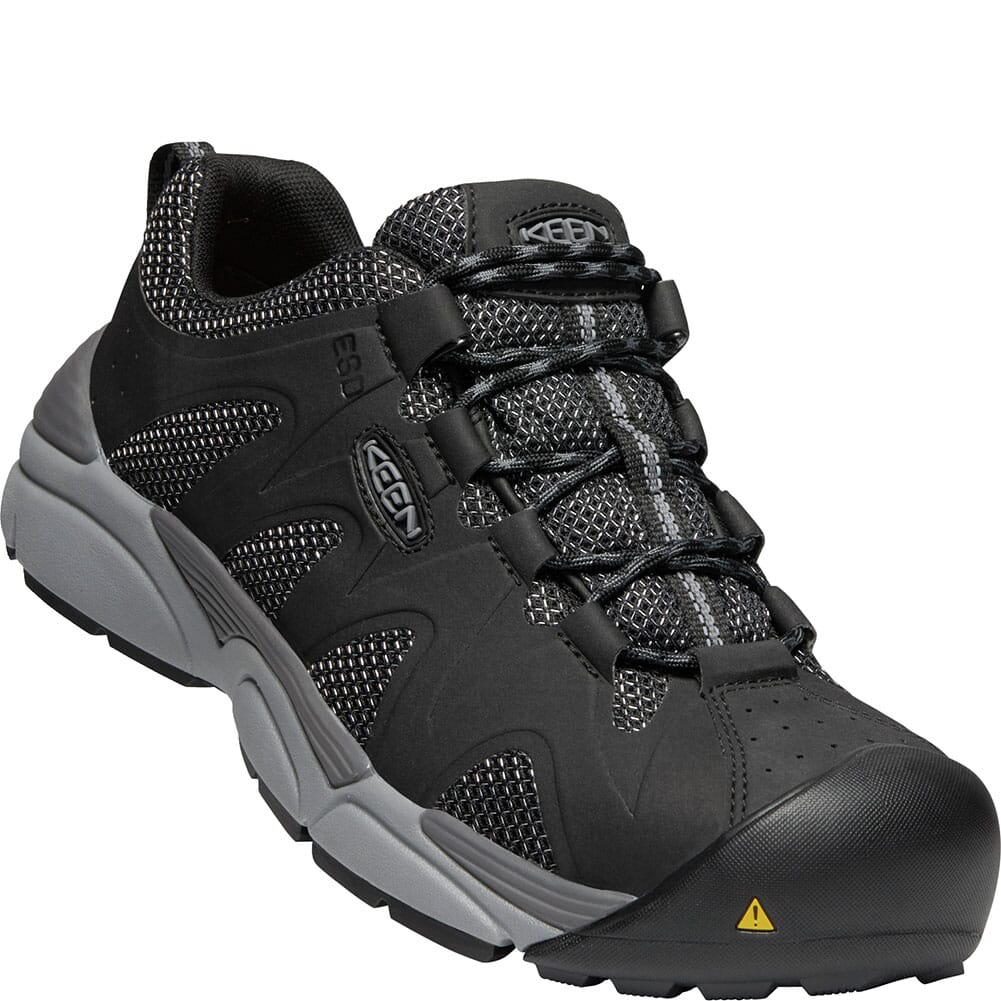 Image for KEEN Men's San Antonio ESD Safety Shoes - Black from bootbay