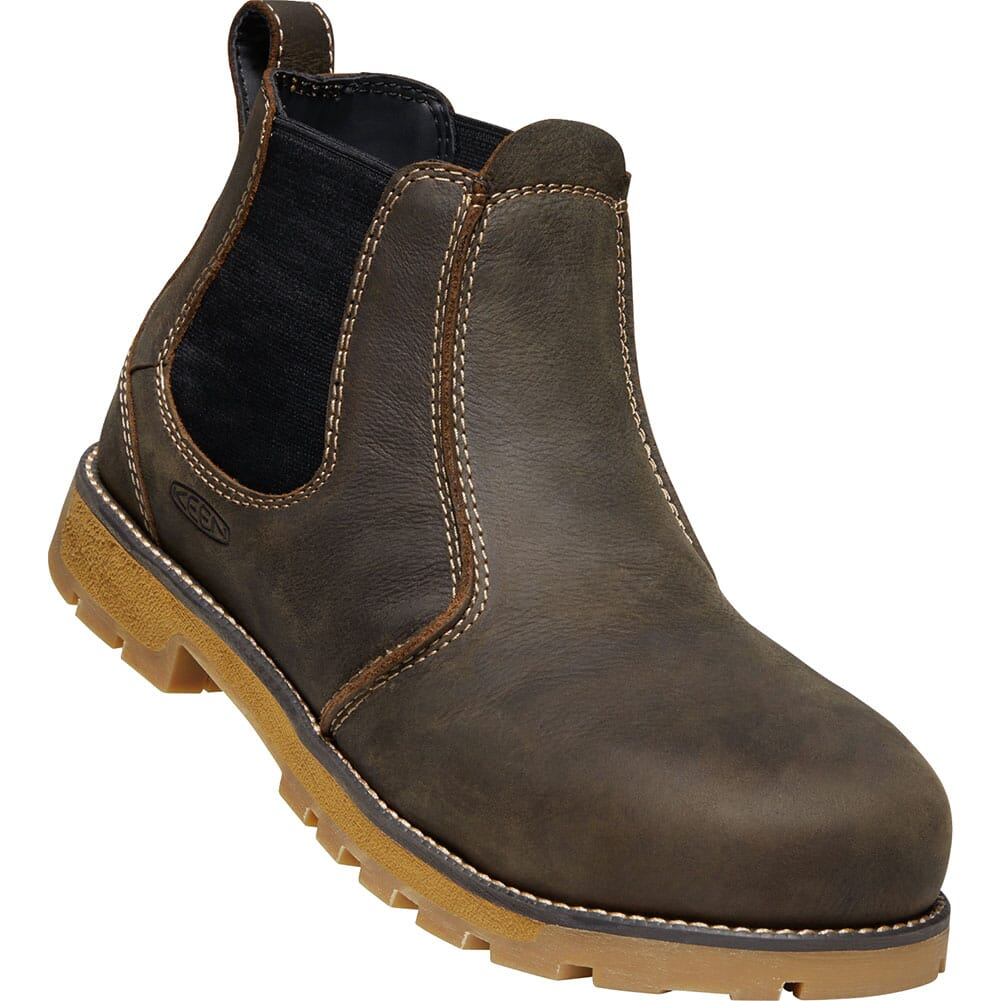 Image for KEEN Men's Seattle Romeo Safety Boots - Cascade Brown/Gum from bootbay