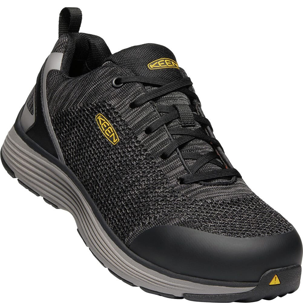 Image for KEEN Utility Men's Sparta Safety Shoes - Black/Grey from bootbay