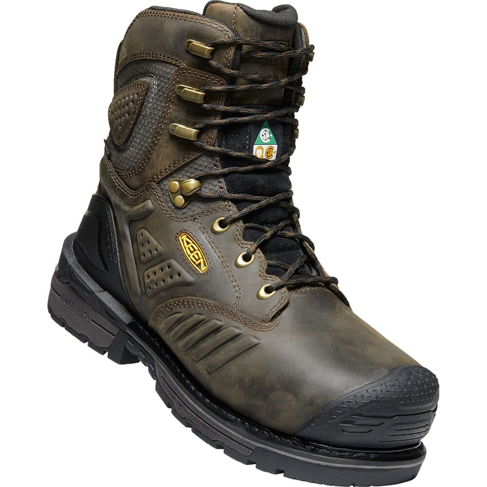 Image for KEEN Men's CSA Philadelphia Safety Boots - Brown/Black from bootbay