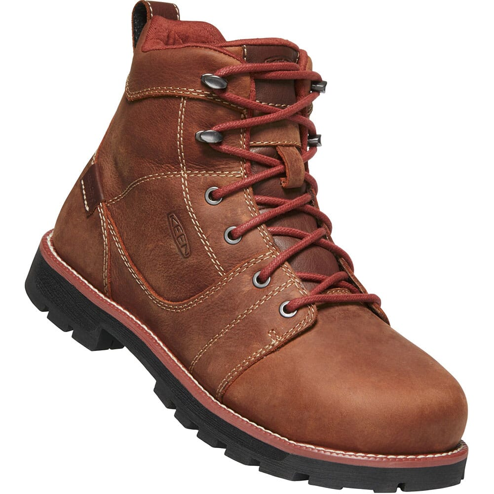 Image for KEEN Utility Women's Seattle WP Safety Boots - Gingerbread from elliottsboots