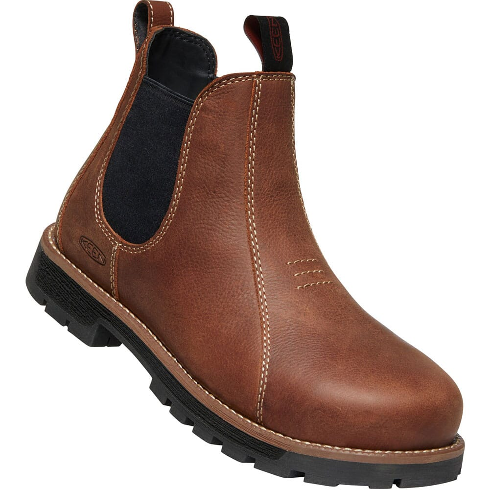 Image for KEEN Utility Women's Seattle Romeo Safety Boots - Gingerbread from bootbay
