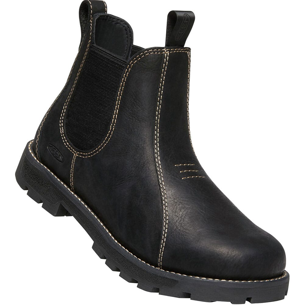 Image for KEEN Utility Women's Seattle Romeo Work Boots - Black from bootbay