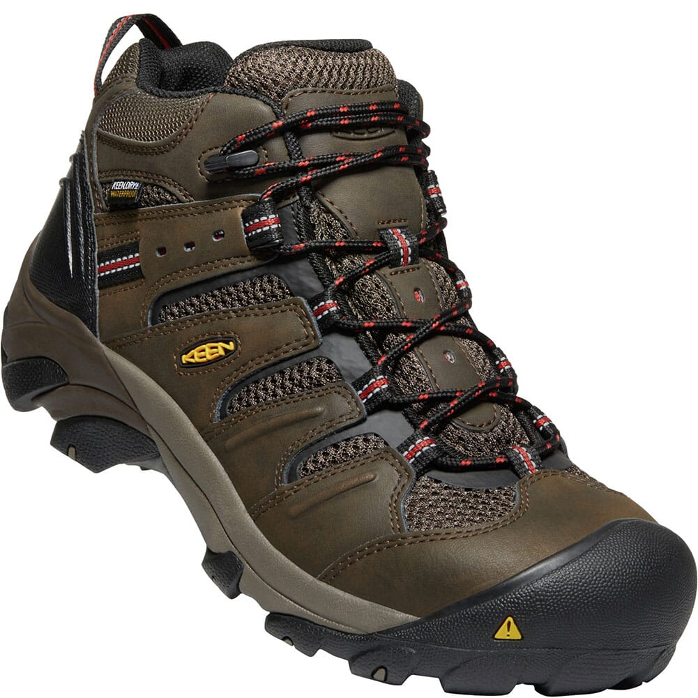 Image for KEEN Utility Men's Lansing Mid WP Safety Boots - Cascade Brown from bootbay