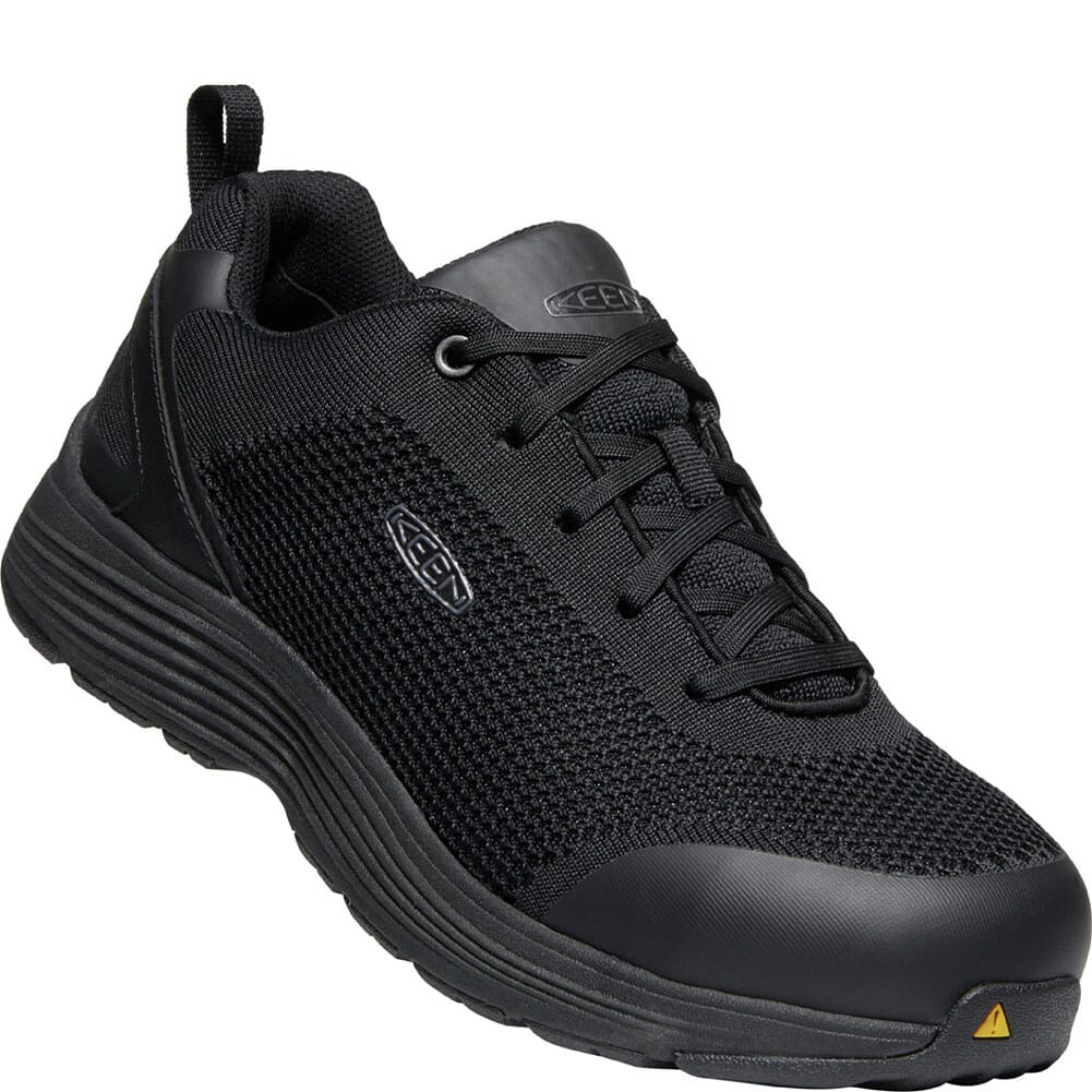 Image for KEEN Utility Men's Sparta Safety Shoes - Black from bootbay