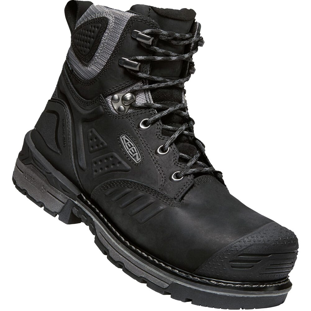 Image for KEEN Men's Philadelphia WP Safety Boots - Black/Steel Grey from bootbay