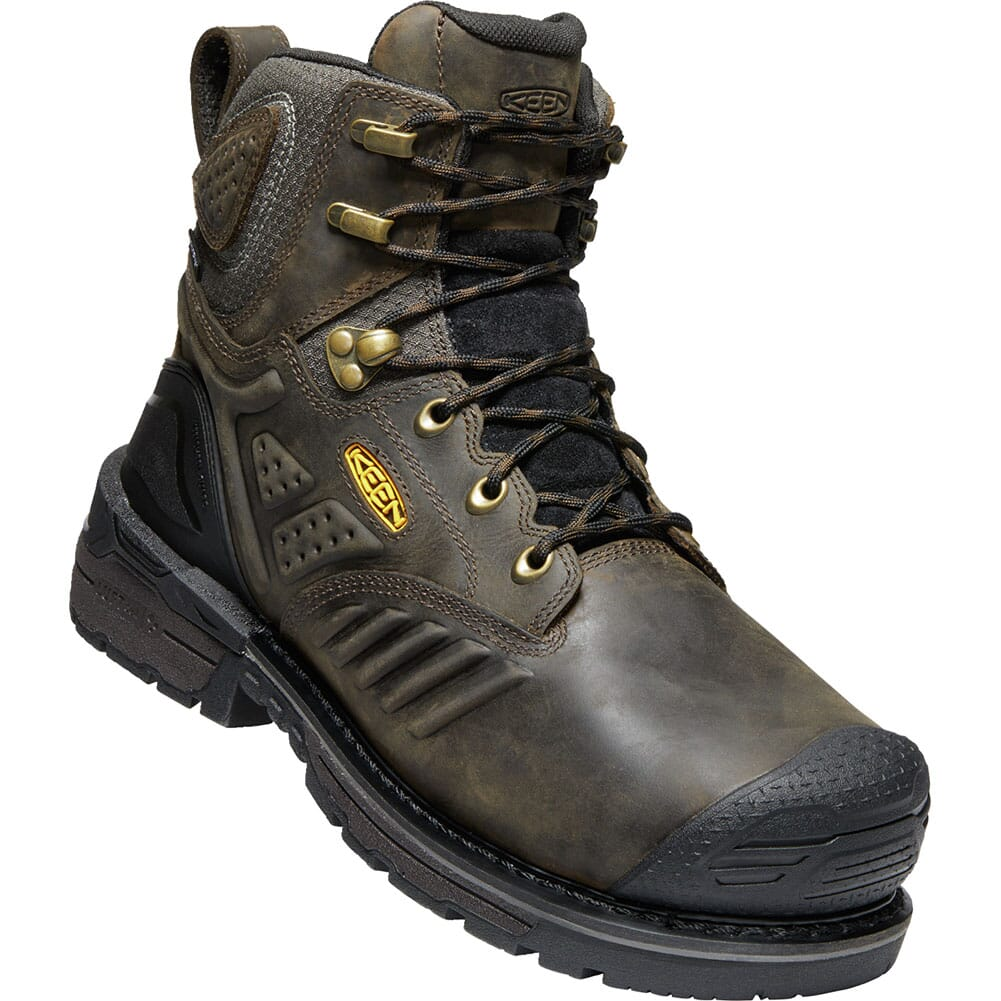 Image for KEEN Men's Philadelphia WP Safety Boots - Brown/Black from bootbay