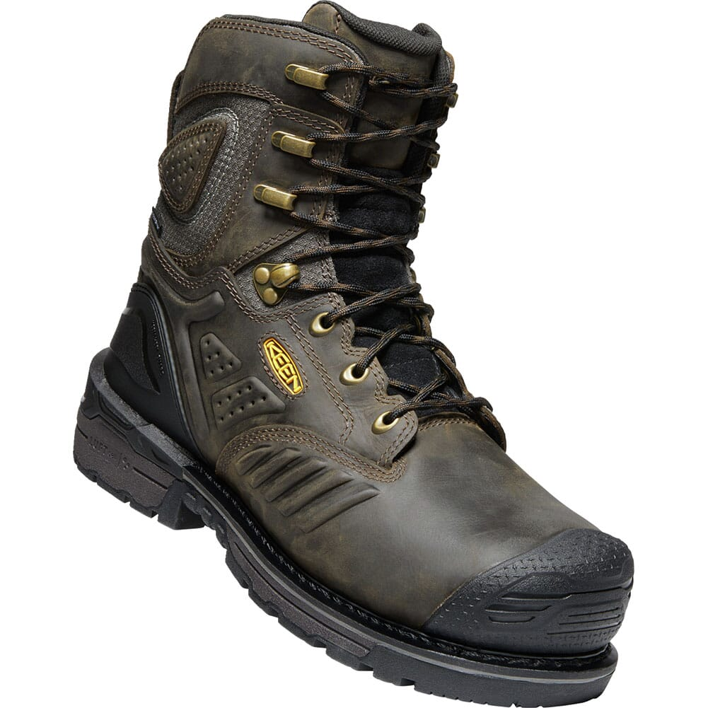 Image for KEEN Men's CSA Philadelphia Met Safety Boots - Brown/Black from bootbay