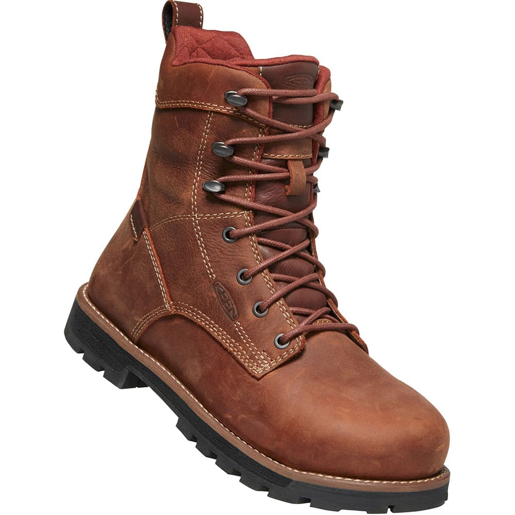 Image for KEEN Utility Women's Seattle WP Safety Boots - Gingerbread/Black from bootbay