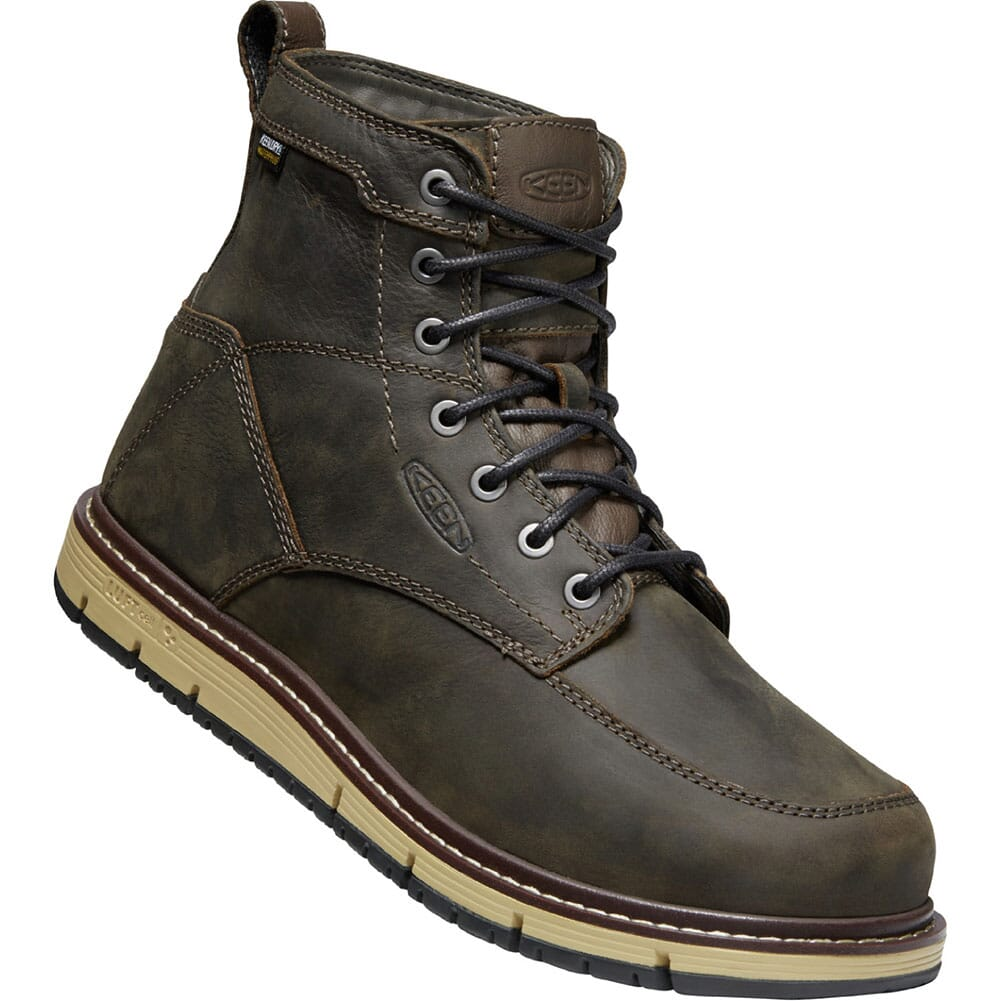 Image for KEEN Utility Men's San Jose WP Work Boots - Cascade Brown from bootbay