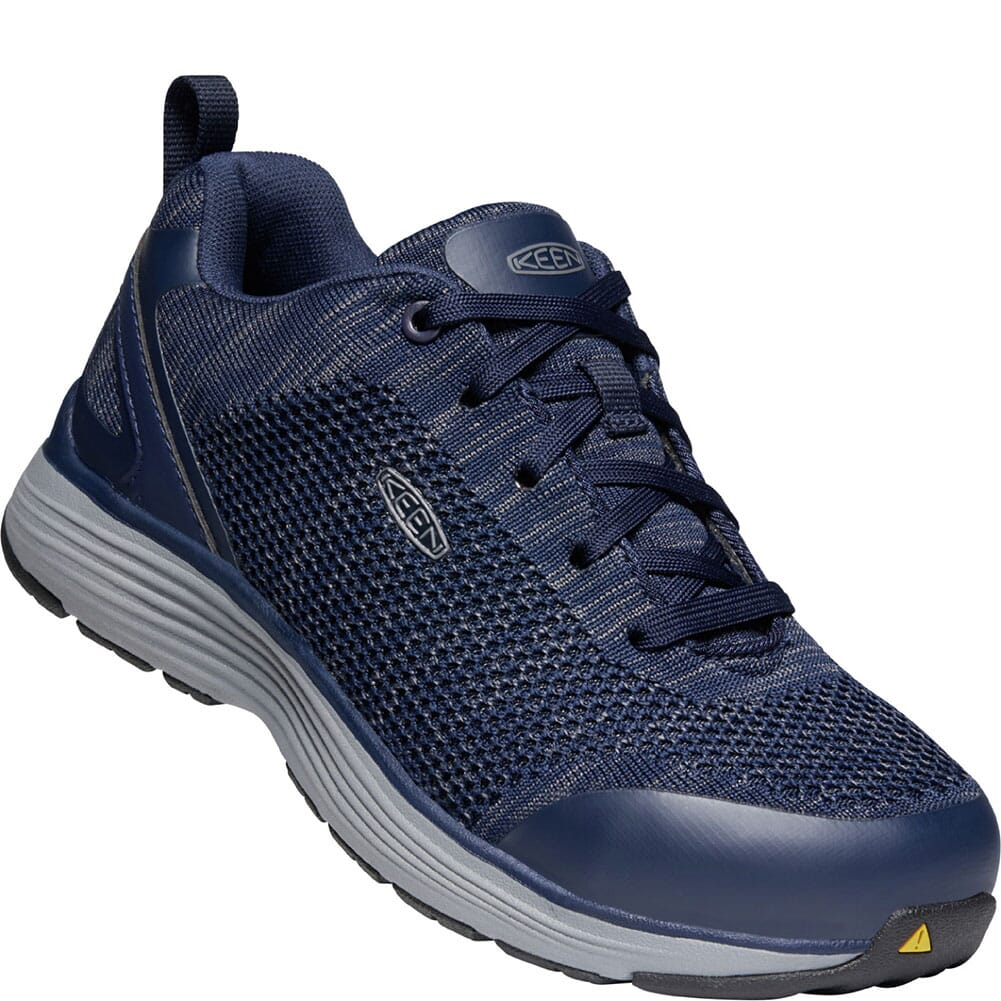 Image for KEEN Utility Men's Sparta Safety Shoes - Mood Indigo/Steel Grey from bootbay