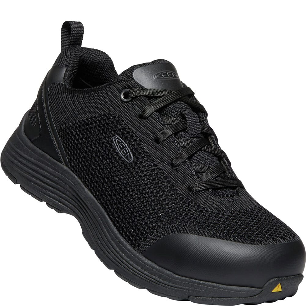 Image for KEEN Utility Women's Sparta Safety Shoes - Black/Black from elliottsboots