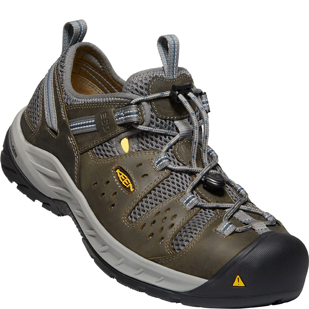 Image for KEEN Utility Men's Atlanta Cool II ESD Safety Shoes - Gargoyle/Midnight from bootbay