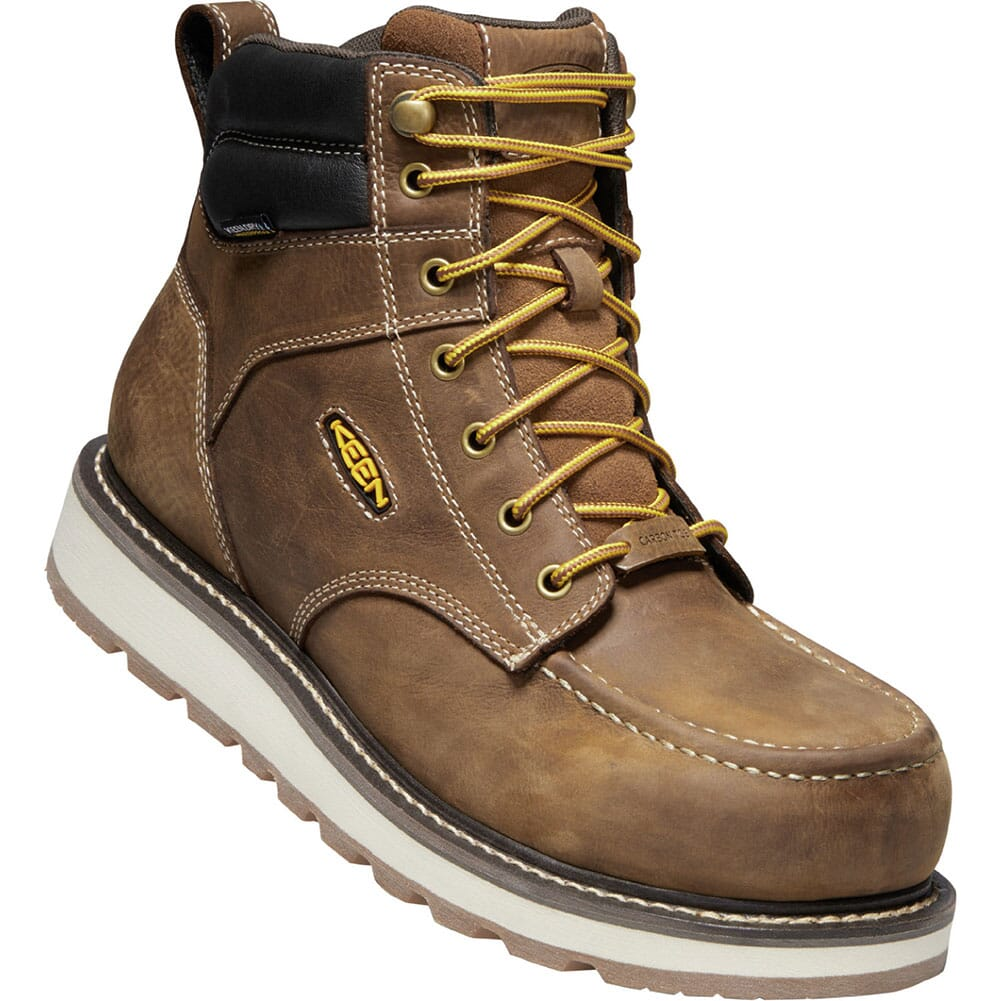 Image for KEEN Utility Men's Cincinnati WP Safety Boots - Belgian/Sandshell from bootbay