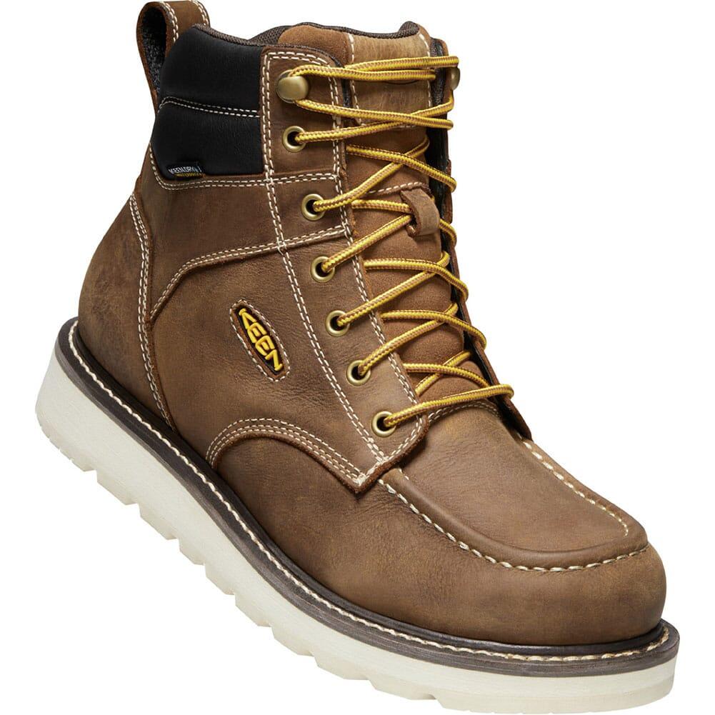 Image for KEEN Utility Men's Cincinnati WP Work Boots - Belgian/Sandshell from bootbay