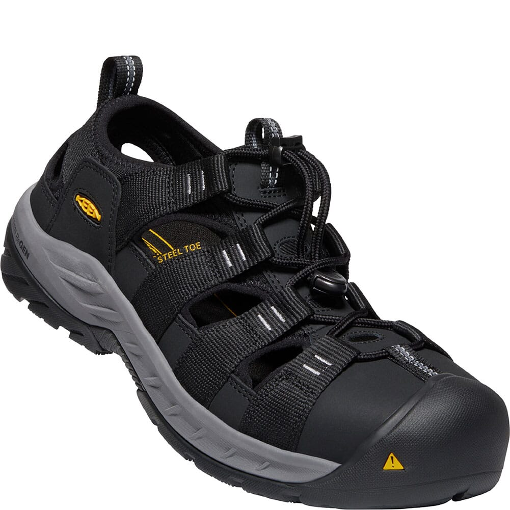 Image for KEEN Utility Men's Atlanta Cooler EH Safety Shoes - Black/Steel Grey from bootbay