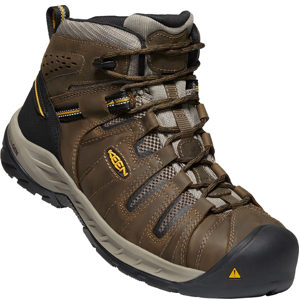 Image for KEEN Utility Men's Flint II Safety Boots - Cascade Brown/Golden Rod from bootbay