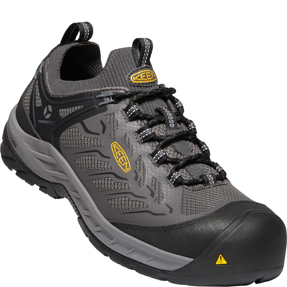 Image for KEEN Utility Men's Flint II Sport Safety Shoes - Forged Iron/Black from bootbay